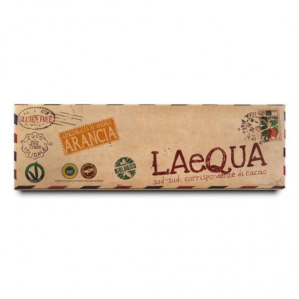 LAeQUA - Cioccolata di Modica con buccia d'arancia BIO