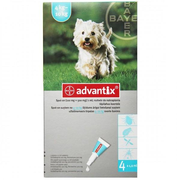ADVANTIX SPOT-ON 4-10 KG