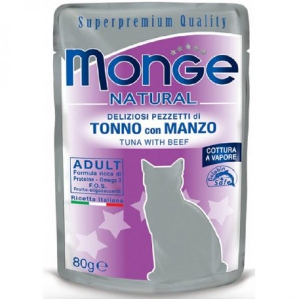 MONGE BUSTE TONNO/MANZO.
