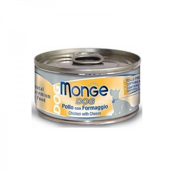 MONGE DOG NAT.POLLO/FORM. 95 GR