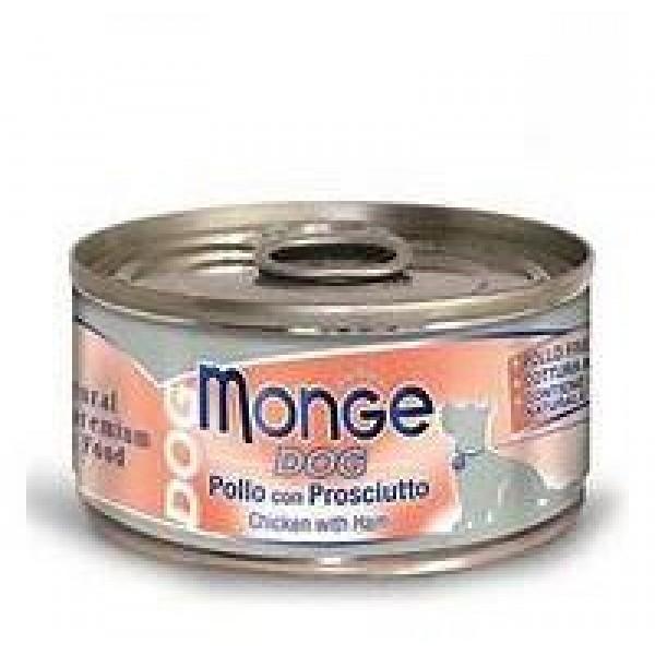 MONGE DOG NAT.POLLO/PROS. 95 GR