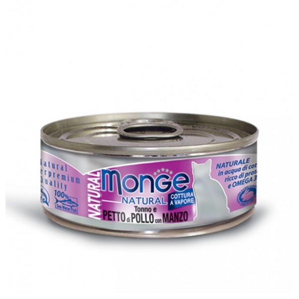 MONGE NAT.POLLO/MANZO