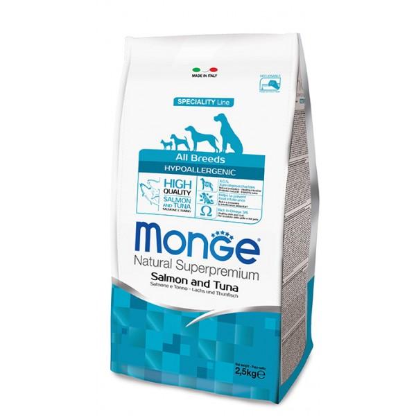 MONGE S.P.ALLBREEDS AD.HYP.SAL/TON 12 KG