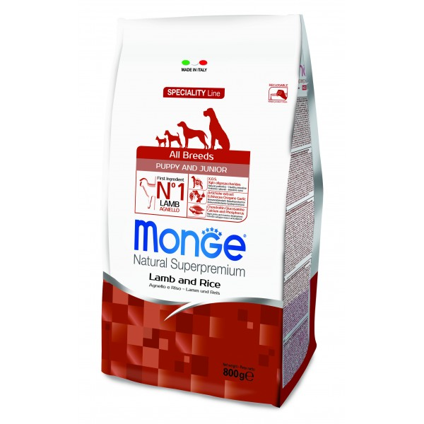 MONGE S.P.ALLBREEDS PUP.AGN/RIS 2,5 KG