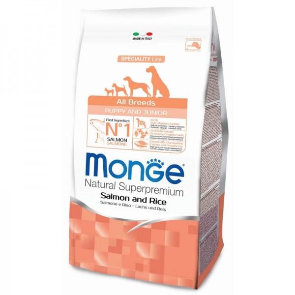 MONGE S.P.ALLBREEDS PUP.SAL/RIS 12 KG