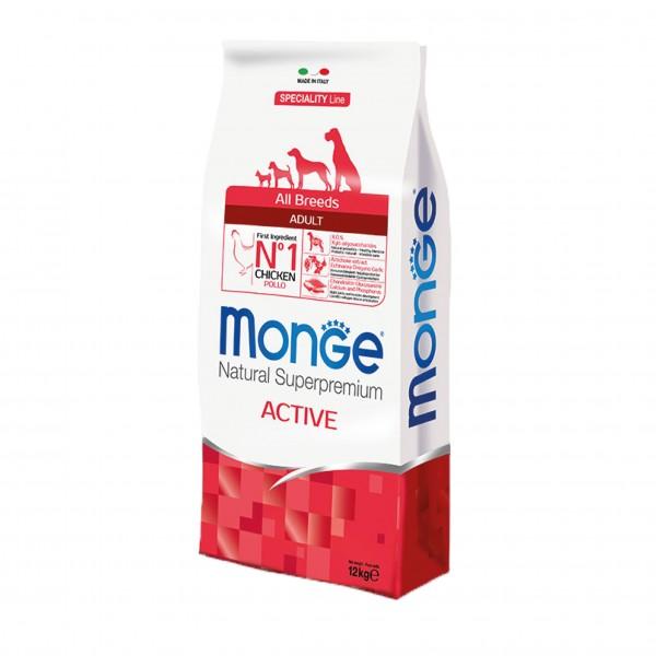 MONGE S.P.ALLBREEDS ACTIVE POLLO 12 KG