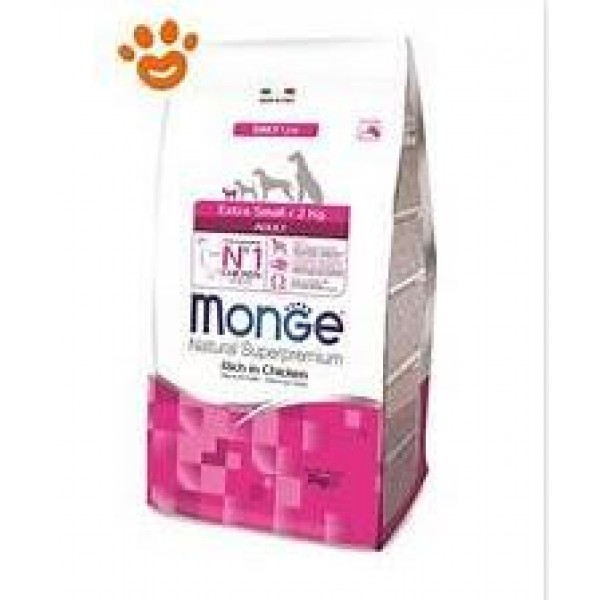 MONGE SUPER P.AD.EXTRA SM.POLLO 3 KG