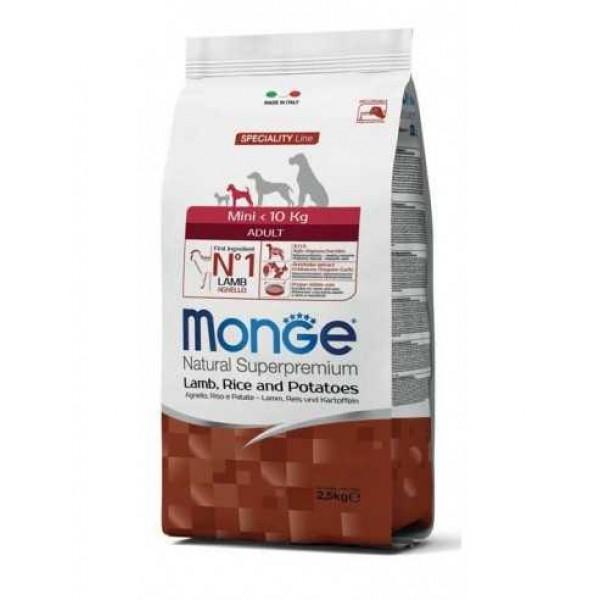 MONGE SUPER P.AD.MINI AGN/RIS 2,5 KG