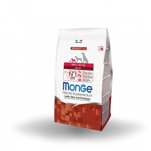 MONGE SUPER P.AD.MINI AG/RI/PA 7,5 KG