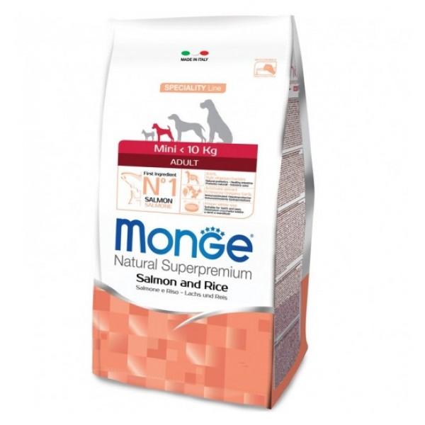 MONGE SUPER P.AD.MINI SALM. 7,5 KG