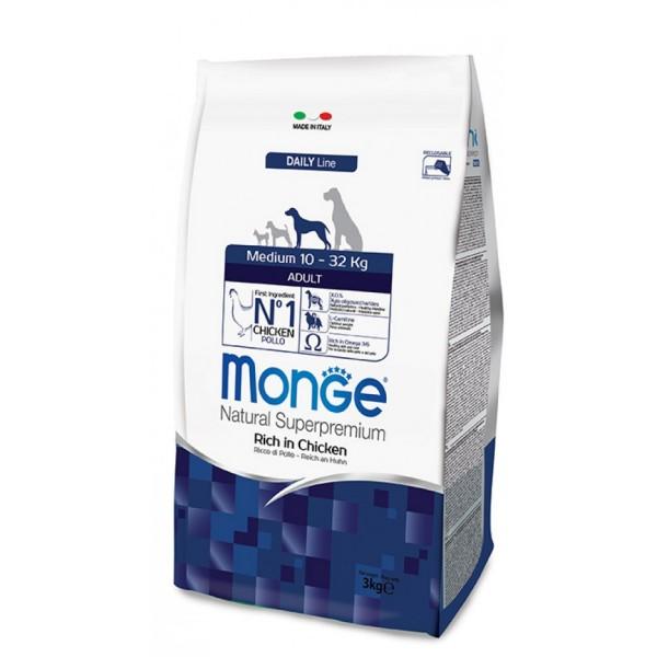 MONGE SUPER P.AD.MEDIO SENIOR 3 KG