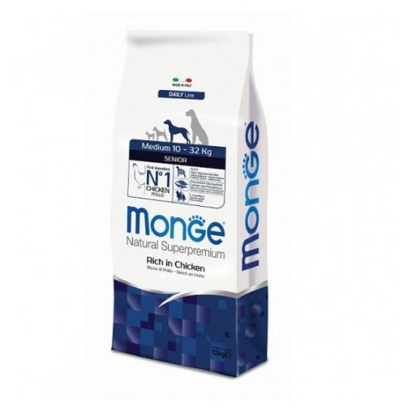 MONGE SUPER P.AD.MEDIO SENIOR 12 KG