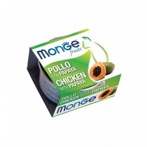 MONGE FRUIT.POLLO/PAPAYA