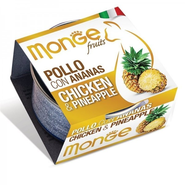 MONGE FRUIT.POLLO/ANANAS