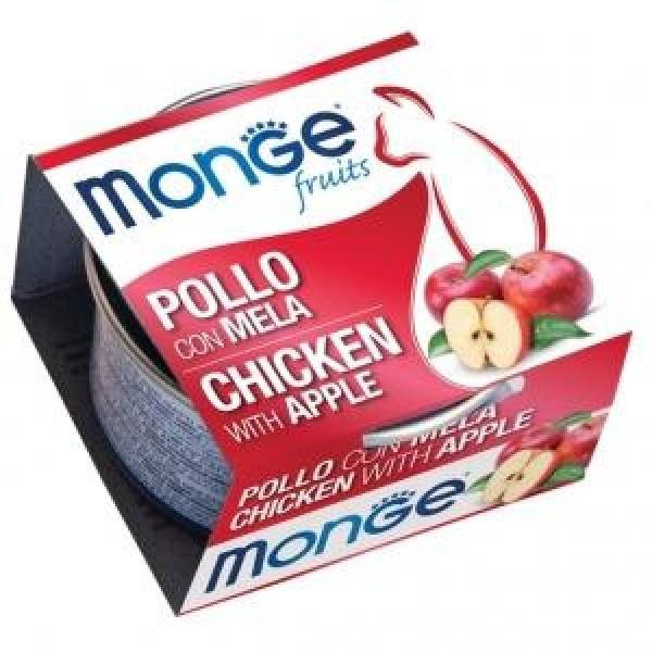 MONGE FRUIT POLLO/MELA