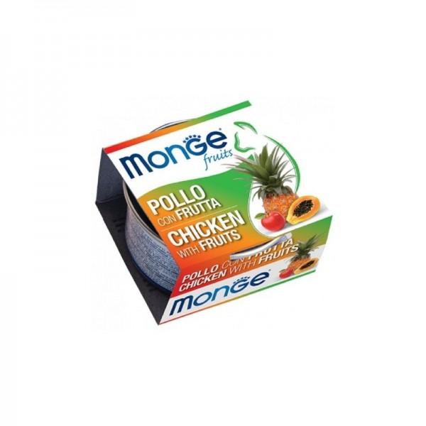 MONGE FRUIT POLLO/FRUT.