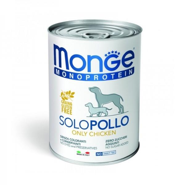 MONGE DOG SOLO POLLO