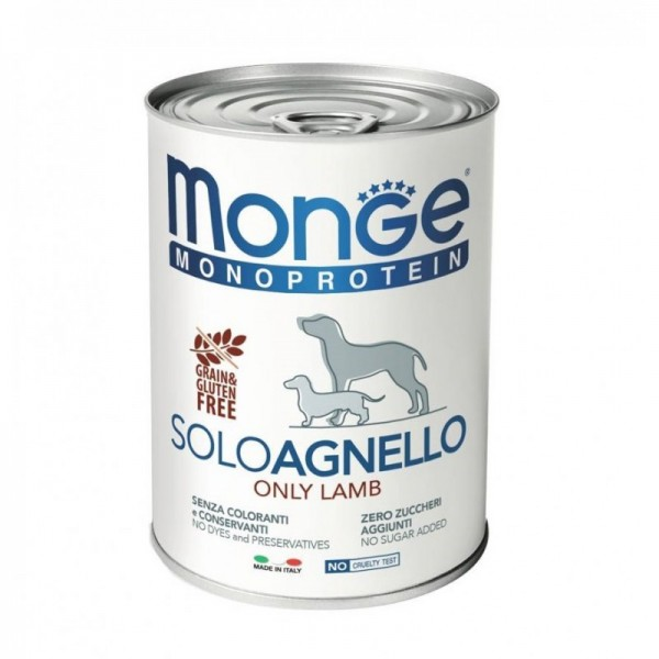 MONGE DOG SOLO AGNEL.