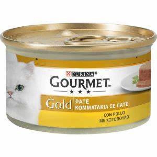 GOURMET GOLD PATÈ POLLO GR 85