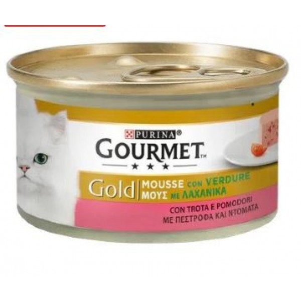 GOURMET GOLD MOUSSE TR/PO GR85