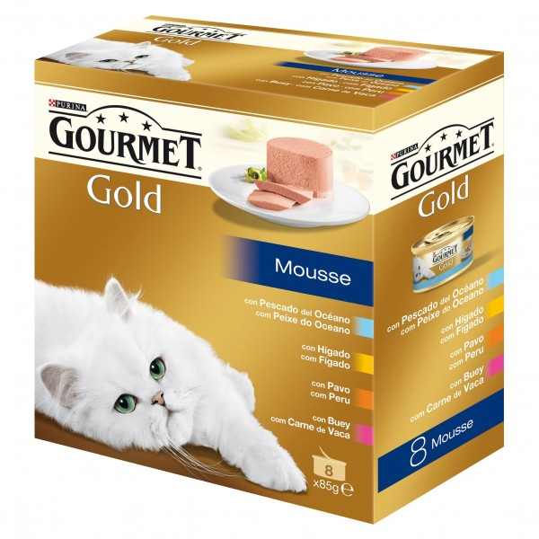 GOURMET GOLD MOUS.MULT.8X85GR