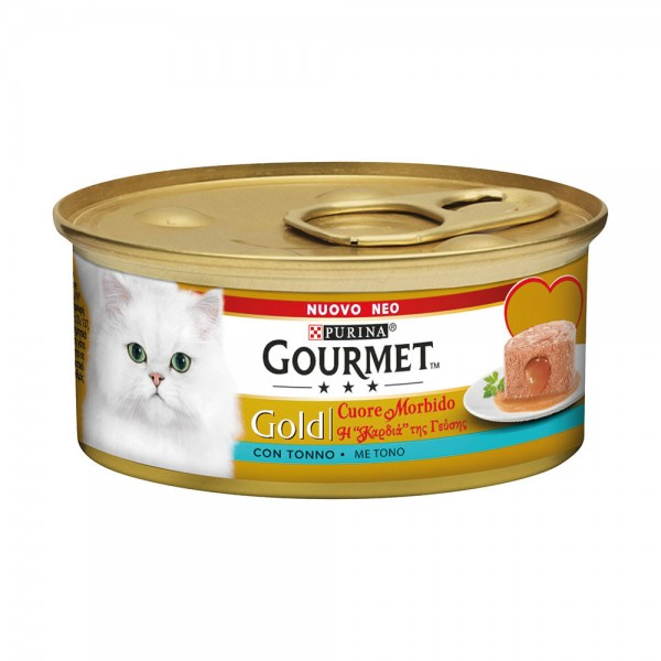 GOURMET GOLD CUORE TONNO GR85