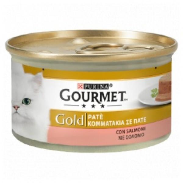 GOURMET GOLD PATÈ SALMONE GR85