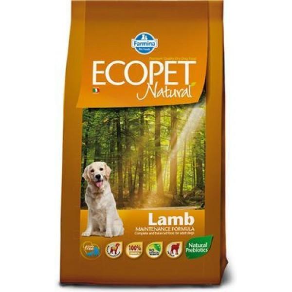 ECOPET NATURAL LAMB KG 12