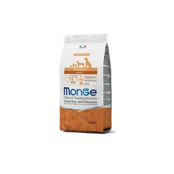 MONGE S.P.ALLBREEDS AD.MAN/RIS 2,5 KG