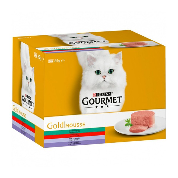GOURMET GOLD MULT. TORT.X24