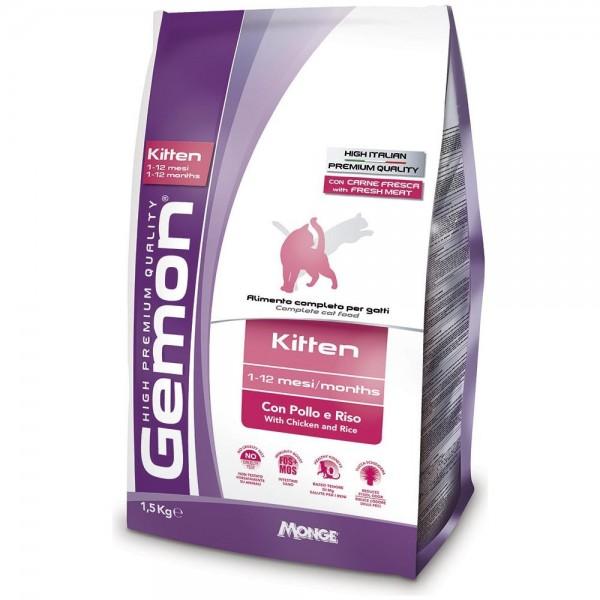 GEMON CAT KITTEN PO/RIS 1,5 KG