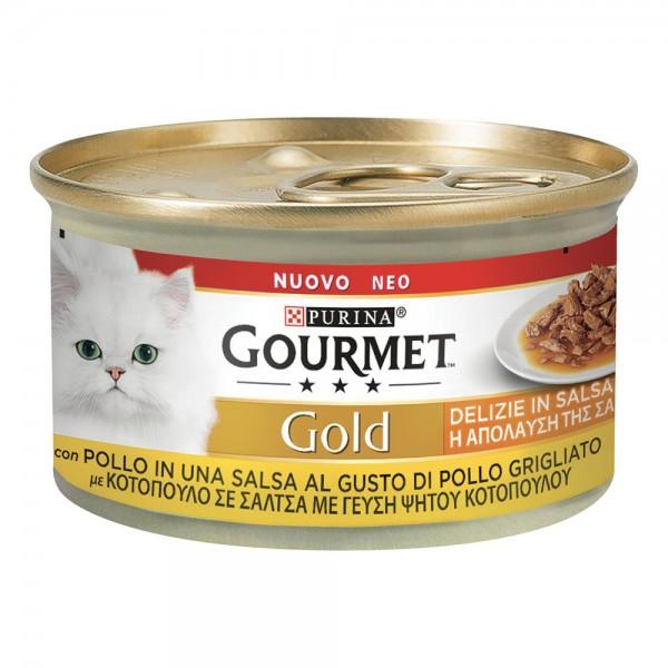 GOURMET GOLD DELIZIE IN SALSA POLLO 85 GR
