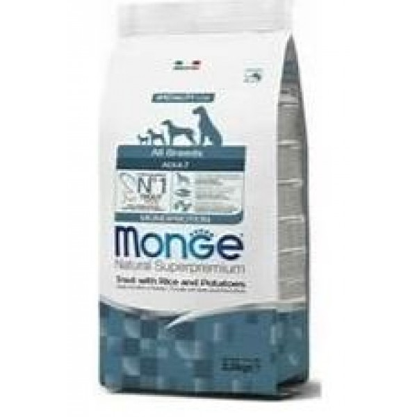 MONGE S.P.ALLBREEDS AD.TRO/RIS 2,5 KG