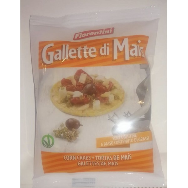 GALLETTE DI MAIS MONODOSE GR 16 X 30