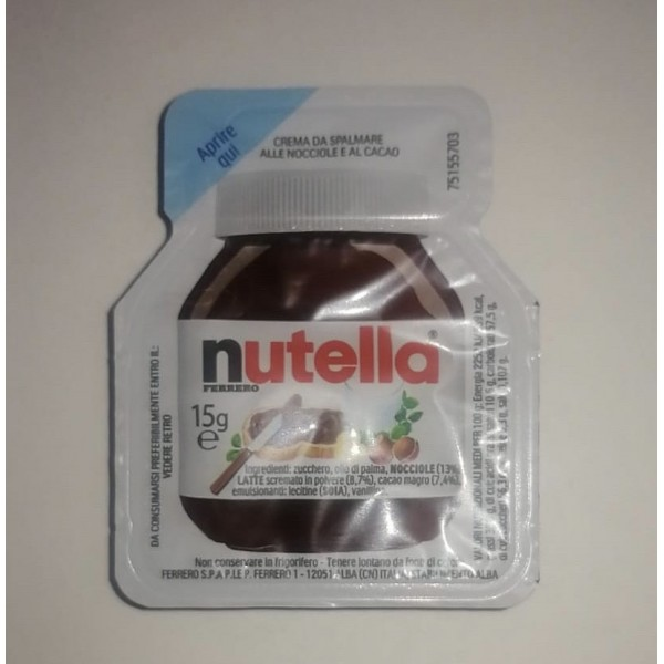 NUTELLA COPP CATERING GR 15 X 120