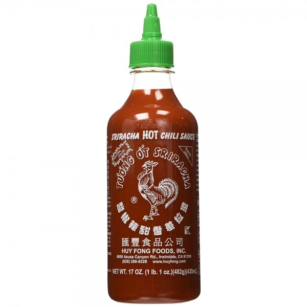 SALSA AL CHILI SRIRACHA 450 ML