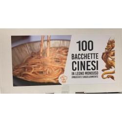BACCHETTE CINESI/GIAPPONESI IN LEGNO PZ 100